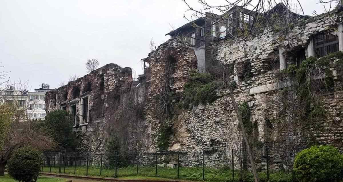 Bukoleon Sarayı Restore ediliyor ibb