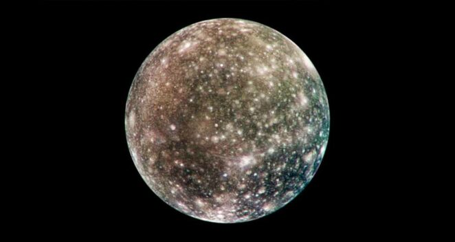 Callisto Güneş Sistemi Tuhaf 10 Uydu