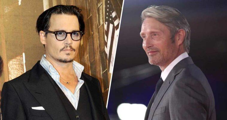 Mads Mikkelsen Johnny Depp Grindelwald