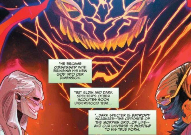 Power Rangers en büyük düşmanı Dark Specter