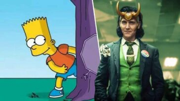 The Simpsons Marvel The Good, The Bart and The Loki