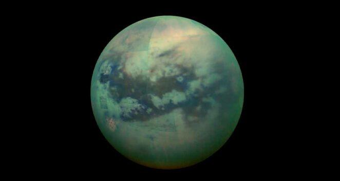 Titan Güneş Sistemi Tuhaf 10 Uydu