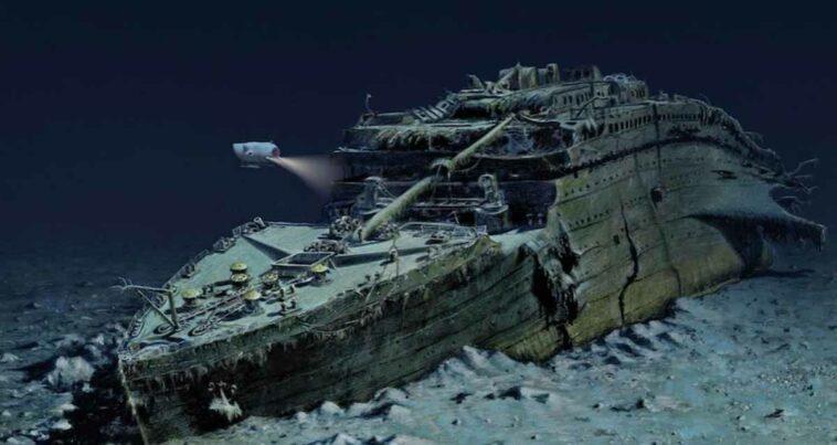 Titanic faciası kalıntıları