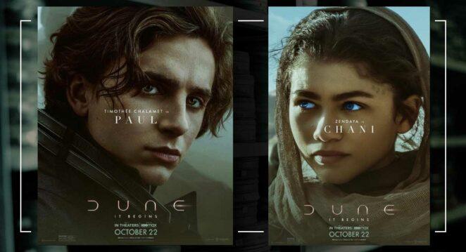 dune karakter posterleri 1