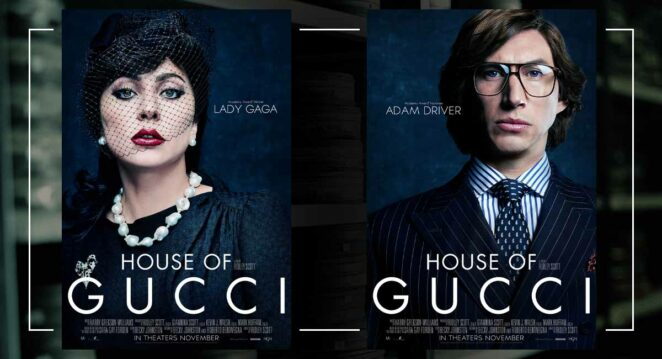 house of gucci karakter posteri