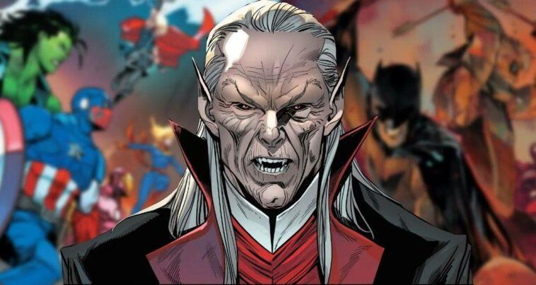 marvel dc comics vampir çizgi roman