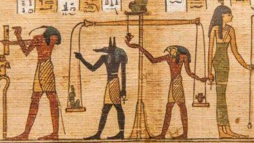 Mısır Ölüler Kitabı Büyü
