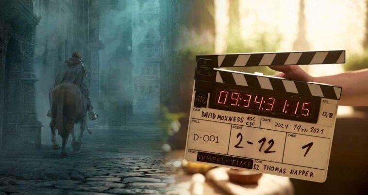 the wheel of time 2. sezon çekimleri