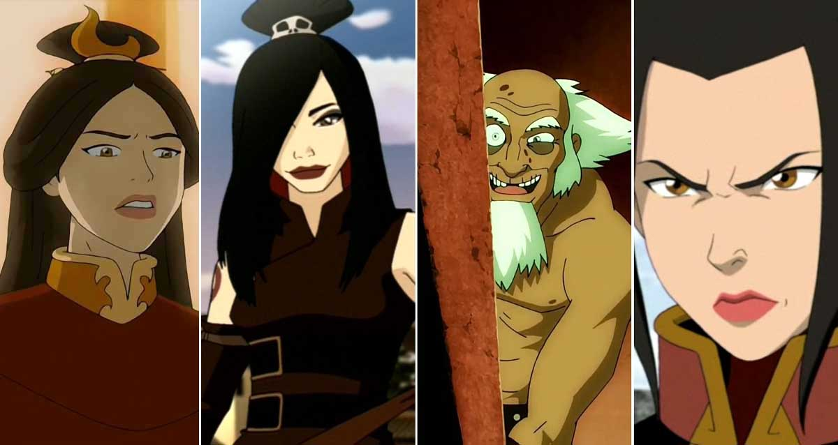 Avatar: The Last Airbender karakterleri