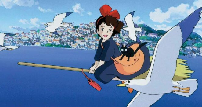 Kiki (Küçük Cadı Kiki) Studio Ghibli animeleri
