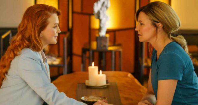 Lucy Lawless ve Renee O'Connor Zeyna ve Gabrielle