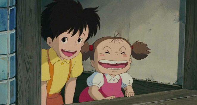 Satsuki (Komşum Totoro) Studio Ghibli animeleri