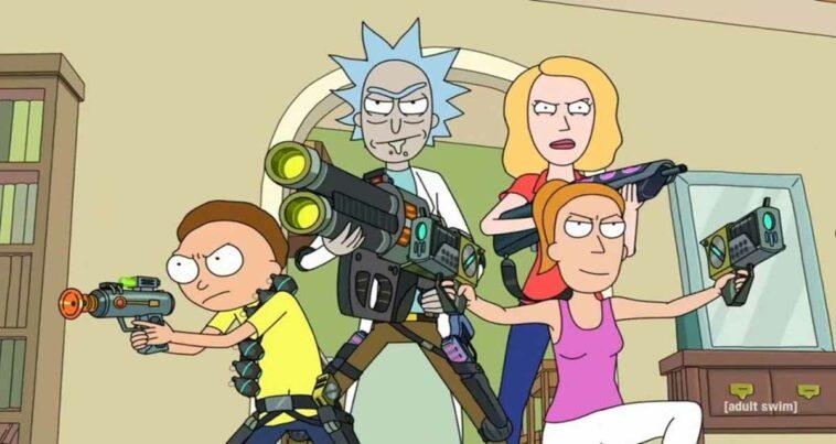 Rick and Morty 6. ve 7. Sezon