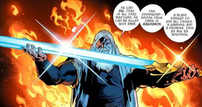 Odinsword Marvel Çizgi Roman Evreni: En Güçlü 10 Silah
