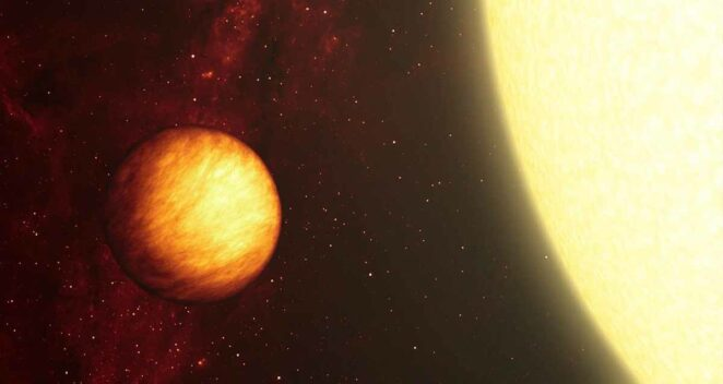 Upsilon Andromeda b: Ateş ve Buzun Dünyası