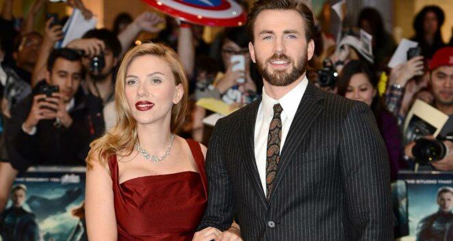 ghosted Chris Evans Scarlett Johansson