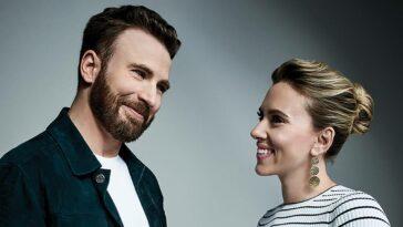 ghosted başrol Chris Evans Scarlett Johansson