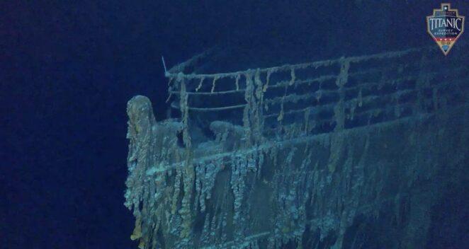titanik enkazı