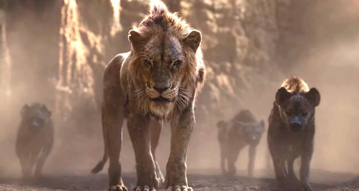 Yeni Aslan Kral Filmi Scar ve Mufasa'