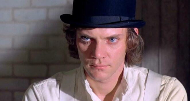 A Clockwork Orange Malcolm McDowell