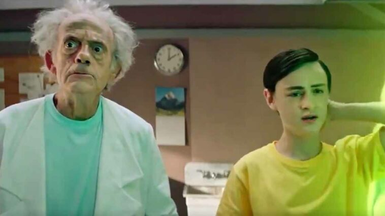 Christopher Lloyd Rick and Morty Geleceğe Dönüş