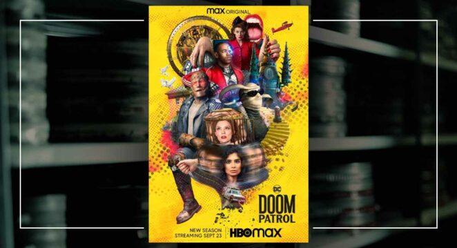 doom patrol 3. sezon poster