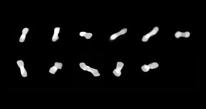 Köpek Kemiği Asteroidi (216) Kleopatra