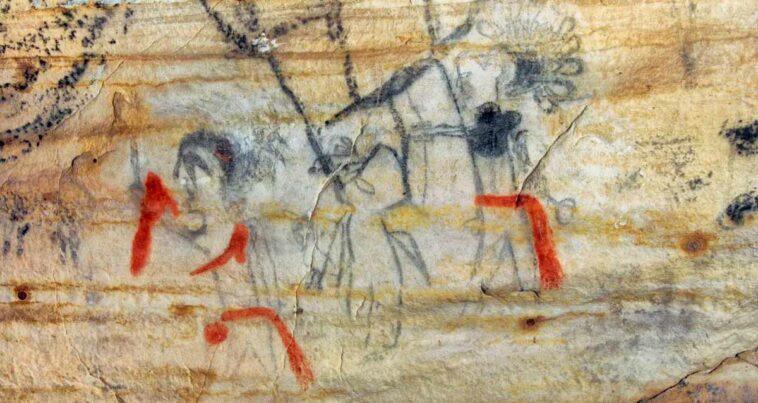Amerikan Yerlileri Kutsal Resimli Mağara