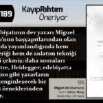Sis - Miguel de Unamuno   Haftanın Kitabı #189