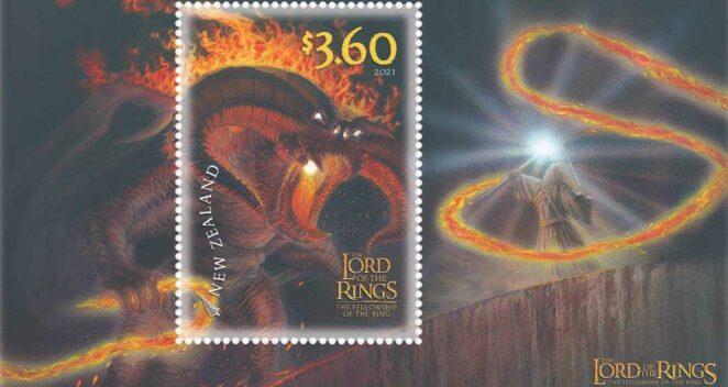 yüzuklerin efendisi posta koleksiyon