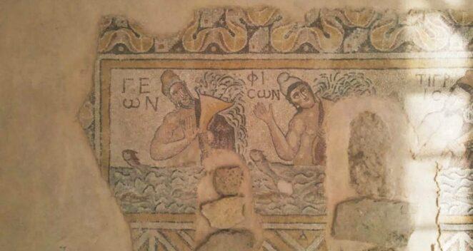 Hadrianaupolis antik kenti karabük tanrı pan