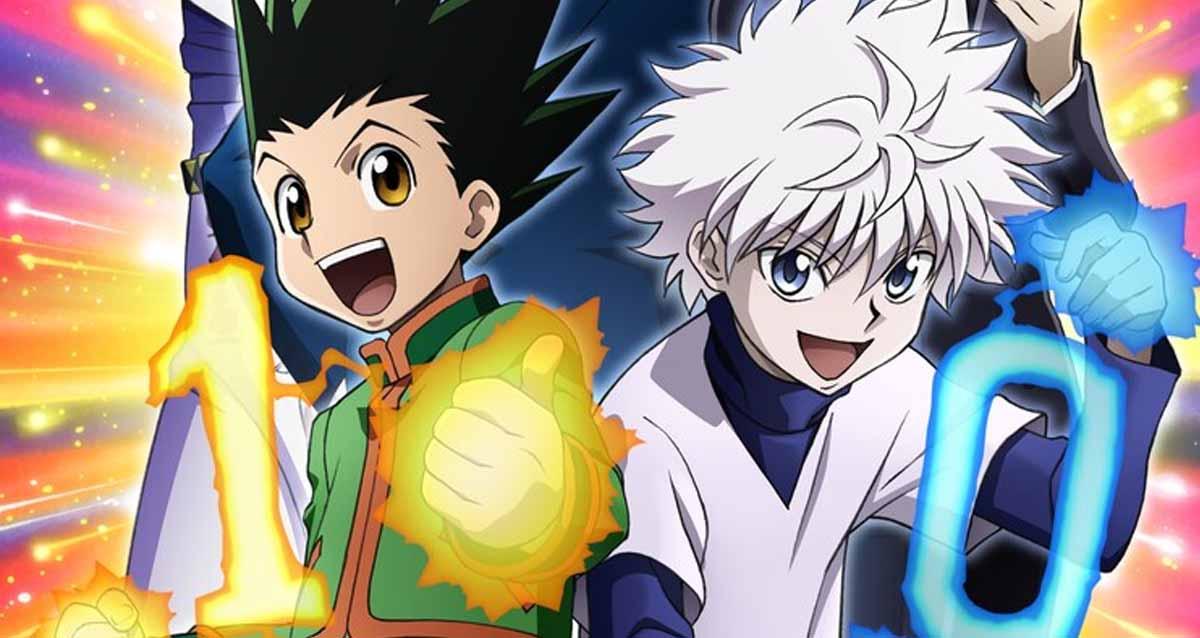 Hunter X Hunter Anime 10 Yaşında