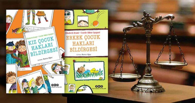 Kız ve Erkek Çocuk Hakları Bildirgesi Kitapları muzır