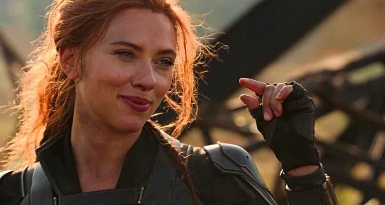 Scarlett Johansson Black Widow Disney