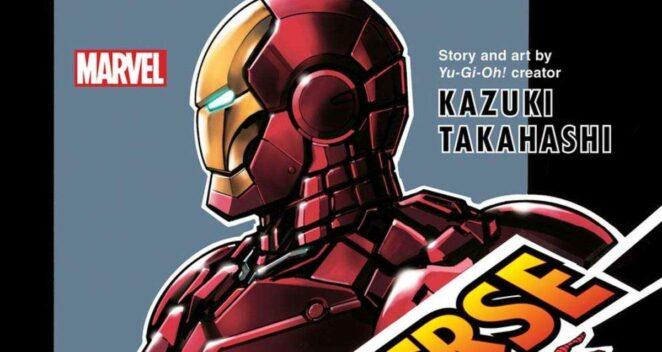 Secret Reverse manga yu gi oh marvel
