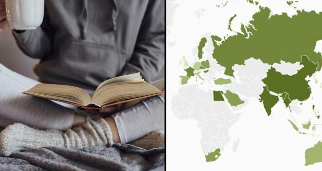 En Çok Kitap Okuyan Ülkeler listesi
