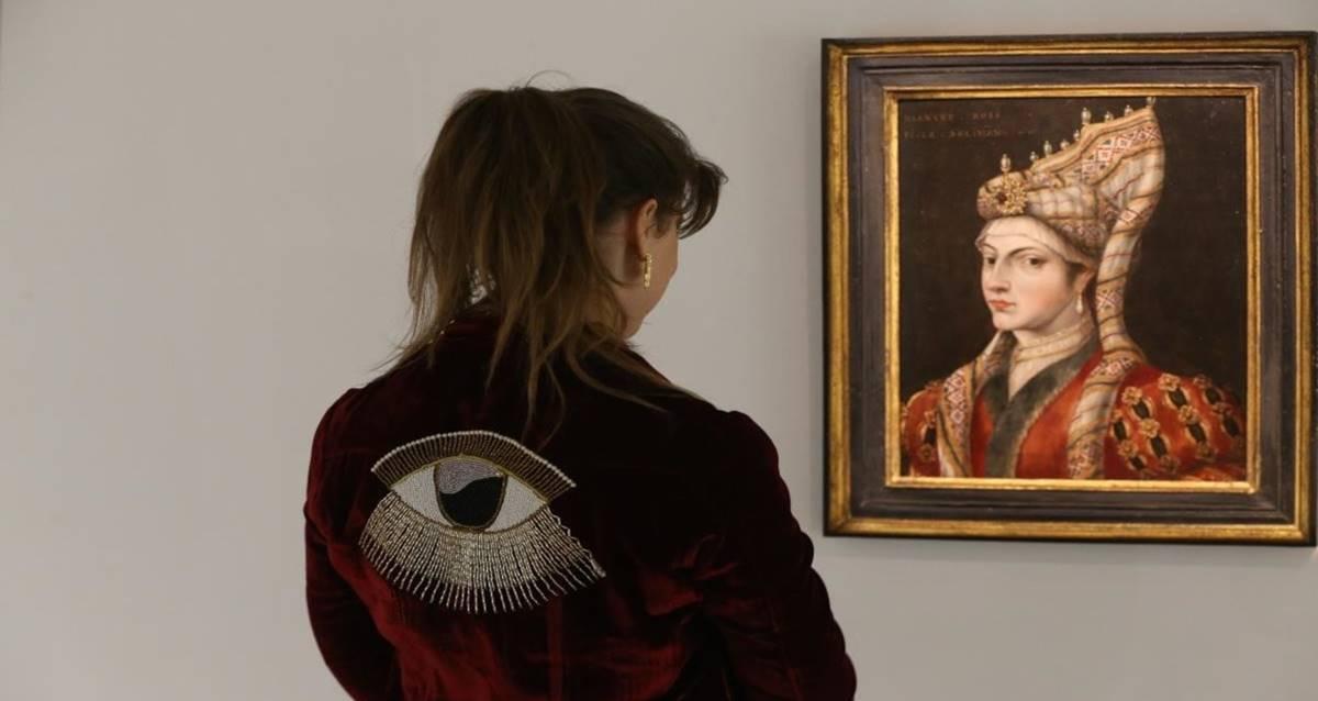 Hürrem Sultan Portresi açık artırma