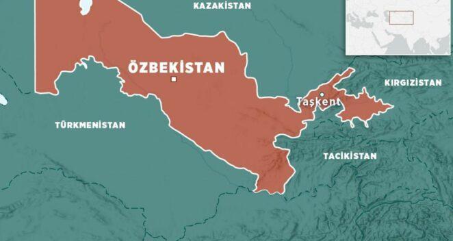 özbekistan harıtası alp er tunga mezarı