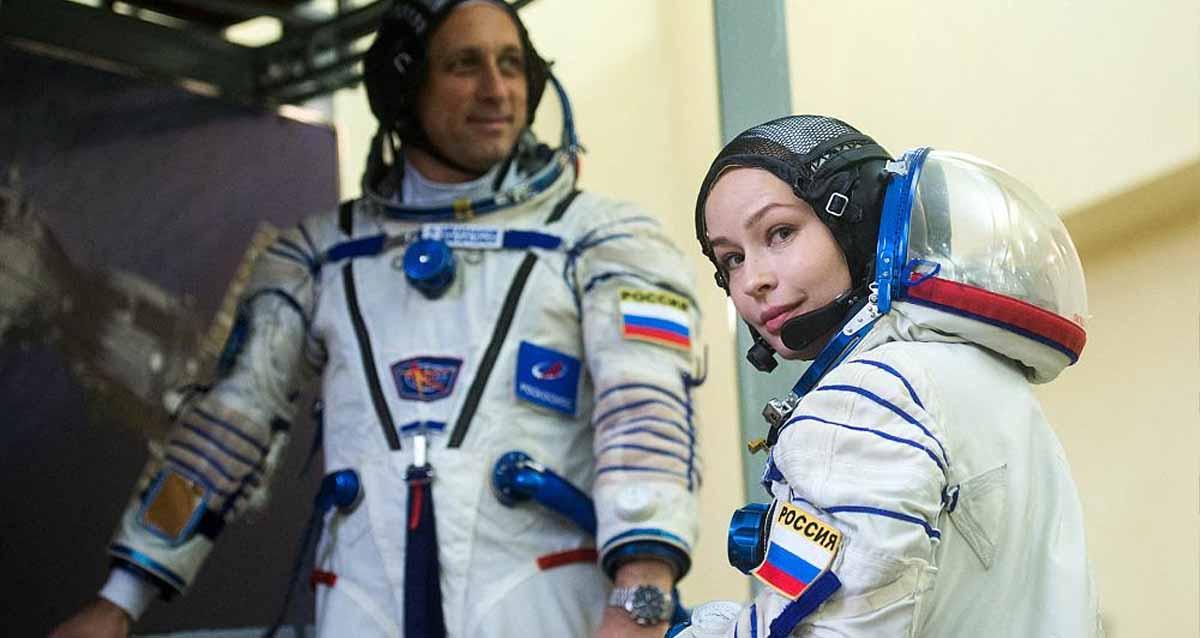 Uzayda çekilen ilk film rusya The Challenge