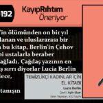 Temizlikçi Kadınlar İçin El Kitabı - Lucia Berlin | Haftanın Kitabı #192